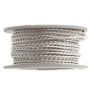 Twisted Artistic Wire 2Yd 18ga Non-tarnish Silver